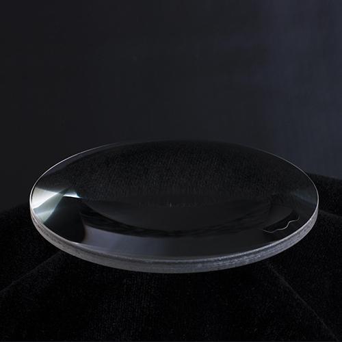 Double convex optical lens
